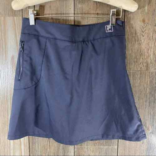 Fila Sport Gray Tennis Skirt with built in shorts