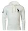 NWT-Polo-Ralph-Lauren-Mens-mesh-hoodie-shirt-BIG-PONY-S-M-L-XL-XXL-Long-Sleeve miniature 12