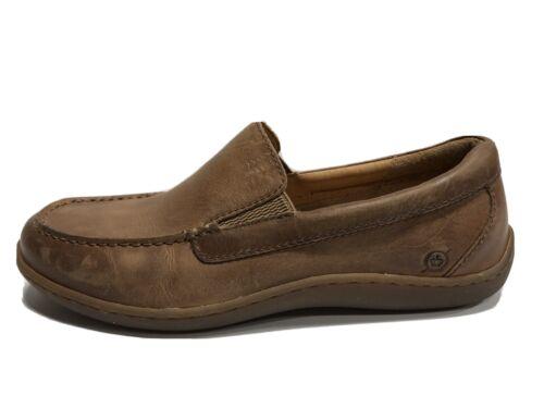 Born Brompton Mens Loafer Natural Brown 9.5 M