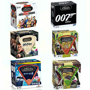 Big-Bang-Theory-Dr-Who-Harry-Potter-039-Trivial-Pursuit-039-Card-Game-Brand-New-Gift