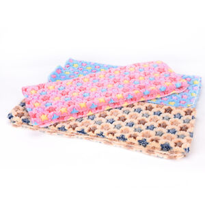 50X80CM Warm Pet Dog Cat Rest Blanket Mat Puppy Fleece Soft Sleep Bed CushionHC
