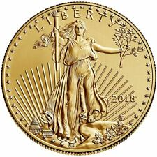 2018 American Gold Eagle 1 oz Coin | Direct From Mint Tube
