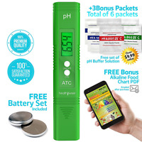 Digital Ph Meter - Pocket Size - Ph Pen Tests Household Drinking Water, Aquarium