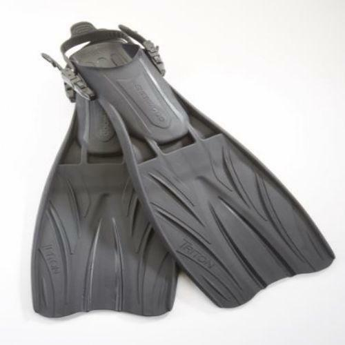 Sherwood Triton Open  Heel Classic Style Vented TPU Fins  sale outlet