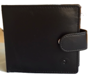 d5b6c5274d5 Origin Wallet with Tab and Coin Section - Black - Mala Leather ...
