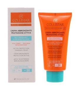 COLLISTAR-Crema-Abbronzante-Protezione-Attiva-SPF-30-alta-protezione-150ml-NUOVA