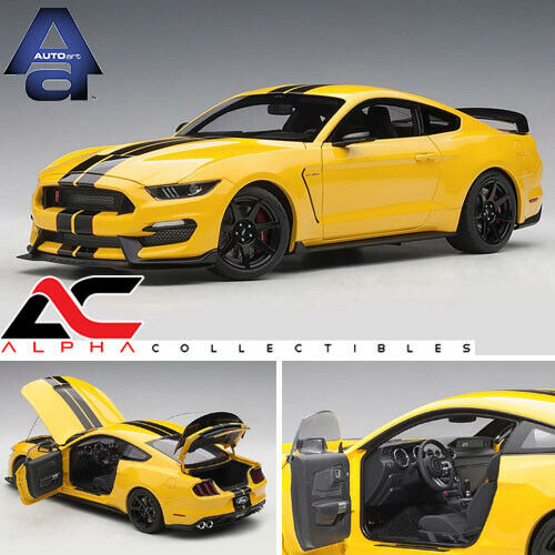 Autoart 72932 1 18 Ford Mustang Shelby GT-350R triple amarillo