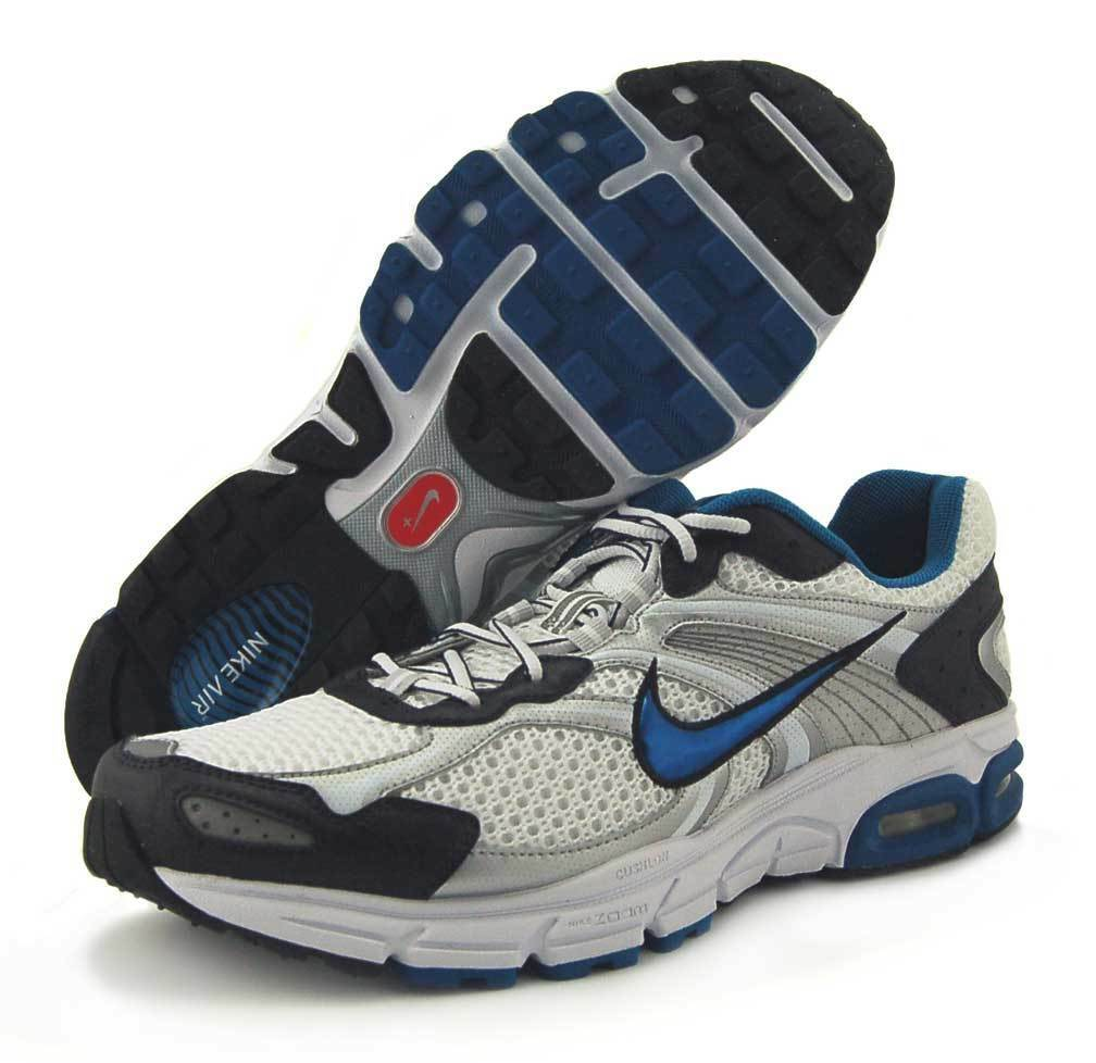 Mens Nike Air Max Moto Moto Moto 7 Running Sneakers White   Royal bluee 366375-141 AA sz 13 00536a