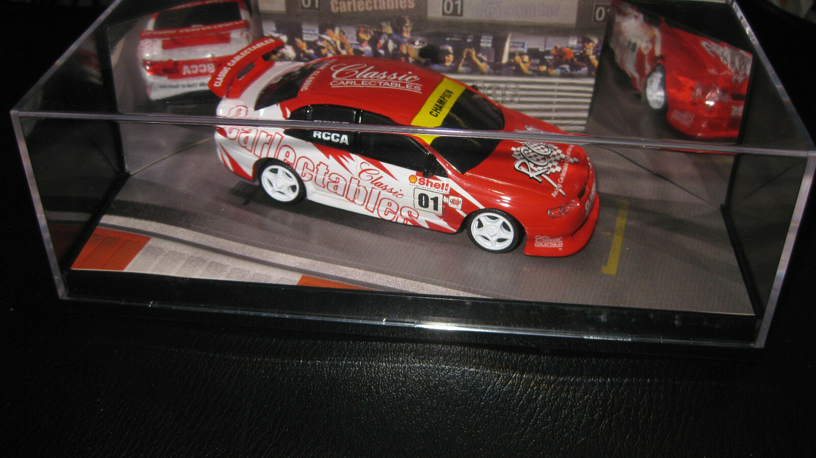 CLASSIC 1 43 SIGNATURE SERIES MEMBERS JOINING CAR HOLDEN COMMODORE RCCA SIGNED