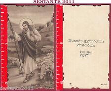 2950 SANTINO HOLY CARD GESù CRISTO BUON PASTORE NB AVE / 339 AVE/339 1938