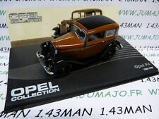 voiture 1/43 IXO eagle moss OPEL collection : P4 1935/1937
