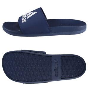 Details about Adidas Adilette Comfort Slides Sandals Slipper Navy B44870