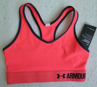 MSRP $24.99 S-L NWT Women's Under Armour Low-Impact Sports Bra Sizes