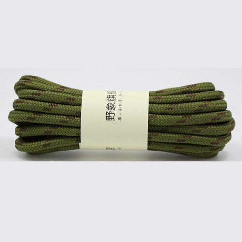 Hiking Canvas Unisex Athletic Round Boots Sneaker Shoe Strings Shoelaces Lace