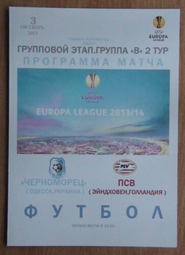 Chernomorets Odessa PSV Holland 2013 pirate