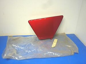 Yamaha-1L9-21711-00-63-OS-OEM-1976-77-XS360-XS-360-LEFT-Side-Cover-RED