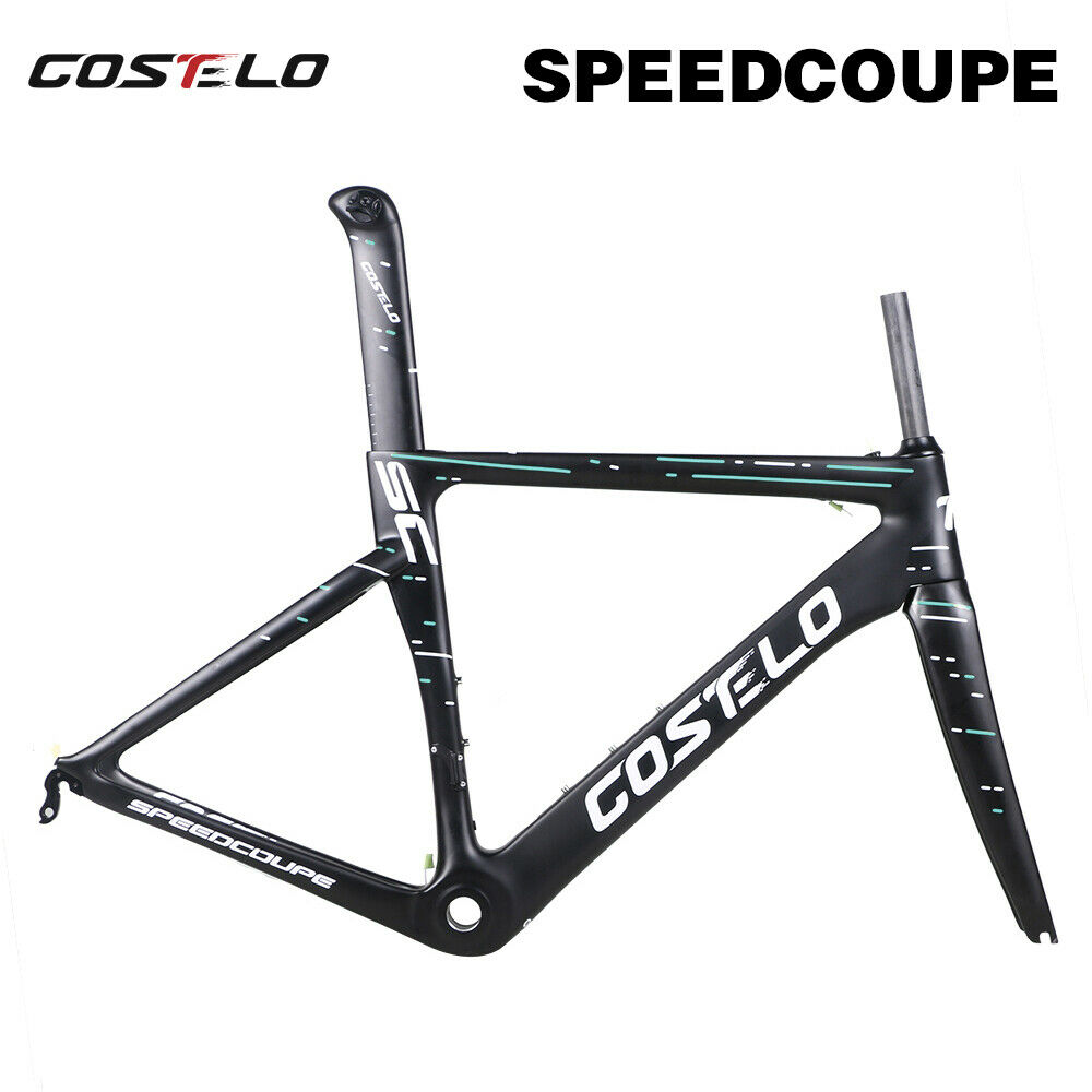Costelo Speedcoupe autobon strada Bike Frameset Fork Seatpost Clamp Bicycle Frame