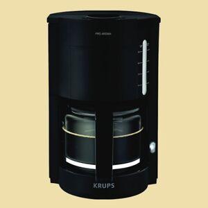 Krups-Kaffeemaschine-ProAroma-F-309-08-schwarz-matt-F30908