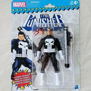 THE-PUNISHER-Marvel-Legends-Super-Heroes-Vintage-RETRO-Carded-6-Inch-Figure