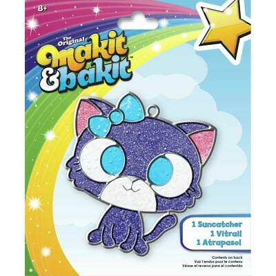 Kitten Makit /& Bakit Suncatcher Kit