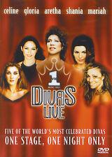 Divas Live : Celine Dion, Gloria Estefan, Aretha Franklin, Shania Twain, Mariah