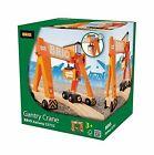 33732 BRIO Gantry Crane Wooden Railway