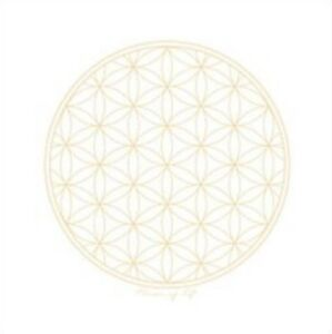 Tarot-Wiccan-Altar-Cloth-Ships-FREE-22-x-22-in-Flower-of-Life-Crystal-Grid