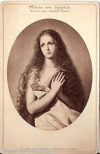CAB photo Kunstbild Maria von Egypten - Dresden 1880er