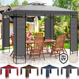 Tonnelle-de-jardin-Tente-de-reception-LORCA-3x3m-Pavillon-Coloris-au-choix