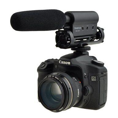 Takstar VideoMic Directional Video Condenser Microphone w/Moun for canon nikon