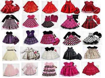 NWT Girls Dress Shrug NEW Holiday Xmas Birthday Party Easter 2T 3T 4T 6m 9m 24m