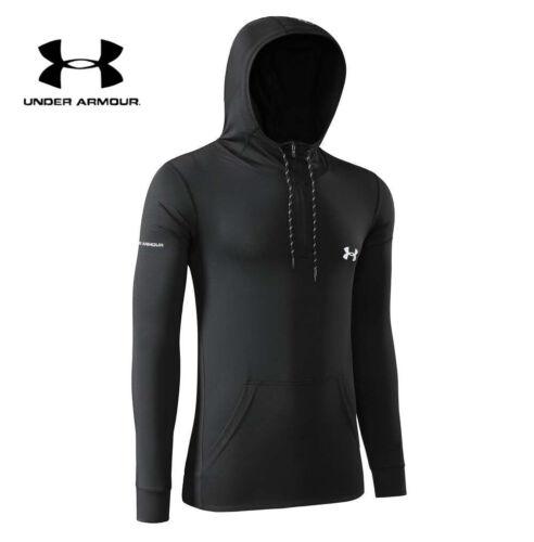 Under Armour UA Mens Run Gym Top Hoodie Pullover Sweatshirt Jumper Sport Jacket