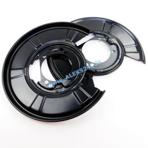 2x disco de freno NK 313454 2 discos de freno trasero atrás Hyundai