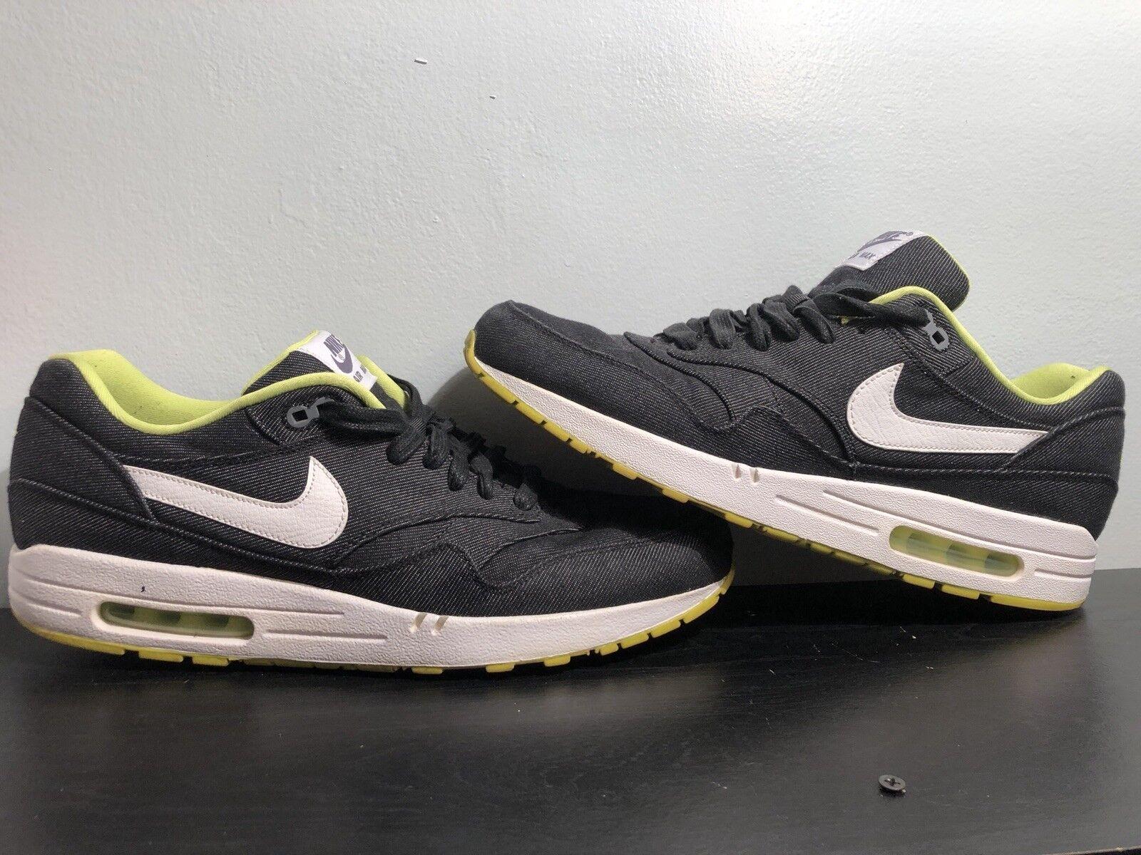 Nike totale bianco 90 laser nero / bianco totale / elettrico iii ibrido green calcio scorpe 7 6a2667