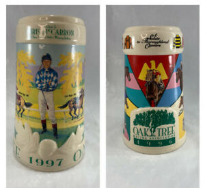 1996-and-1997-Oak-Tree-Racing-Association-Santa-Anita-Park-Limited-Edition-Stein