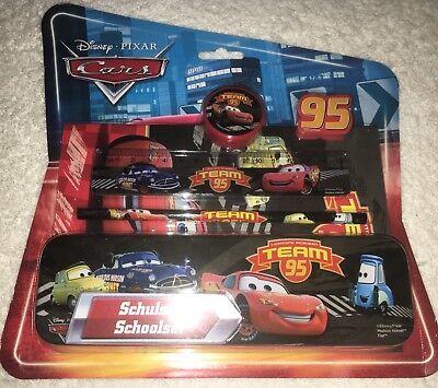 Schoolset OVP Lightning McQueen Cars 6tlg Schulset