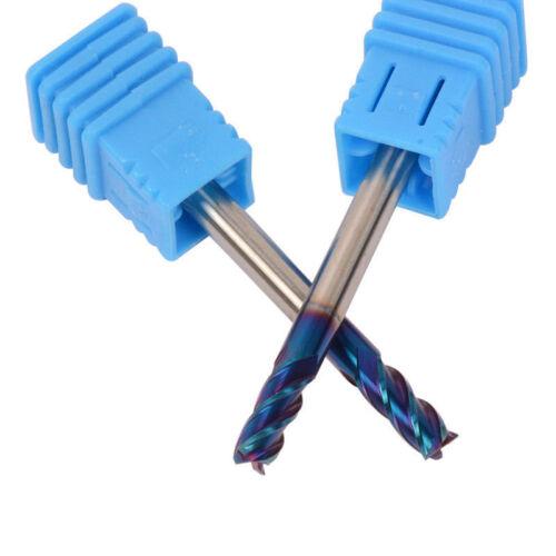 HRC65 4mm Tungsten Carbide End Mill 4 Flute Milling Cutter CNC Tool D4*10*50mm B