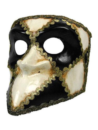 """BAUTA /""""scacchi/"""" vénitiens masque carnaval venise"""