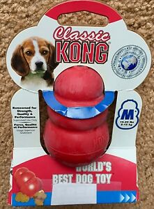 93ff497256914 Kong Classic Medium Red Dog Toy recommended for dogs 15-35lbs NEW | eBay