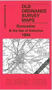 OLD ORDNANCE SURVEY MAPS DONCASTER /& ISLE OF AXHOLME /& PLAN FINNINGLEY 1894 S 88