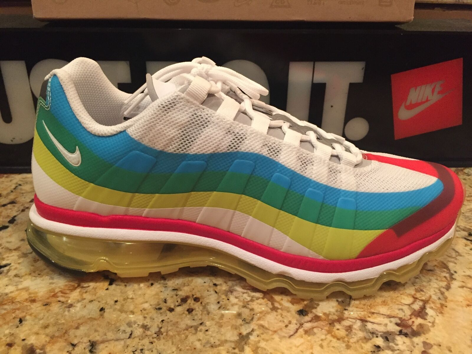 NIKE AIR MAX 95 SIZE 11 (+) WTM WHAT THE MAX 2012 DS RARE