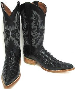 Men S Crocodile Alligator Tail Leather Cowboy Western