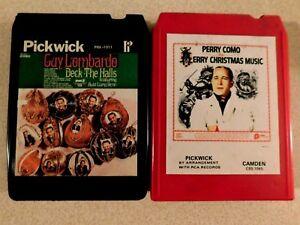 Guy Lombardo Deck the Halls & Perry Como Merry Christmas Music 8-Track   eBay