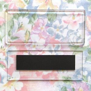 60x-Blank-Acrylic-Fridge-Magnets-119x47mm-Photo-Size-amp-128x55mm-Frame-Size-E1304