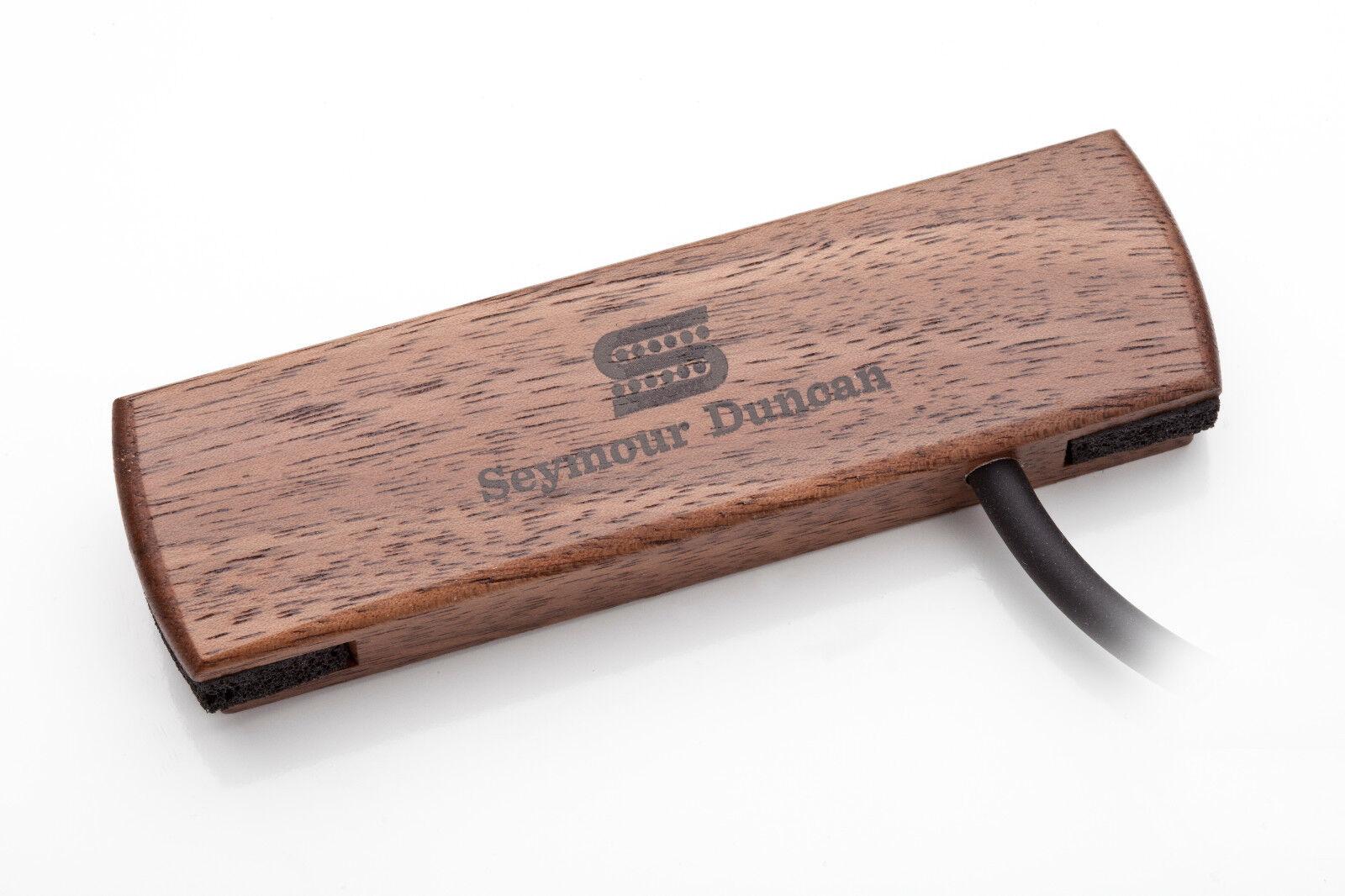 NEW Seymour Duncan Hum-Cancelling Woody Acoustic PICKUP SA-3HC WALNUT