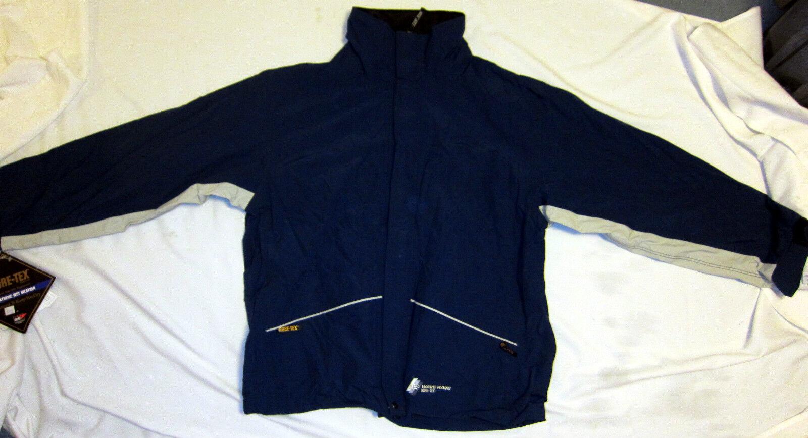 GORE TEX Wave Rave Ski Snowboard Jacket 100% Waterproof Guaranteed XL X Large