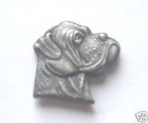 3D EFFECT METAL CUT OUT LABRADOR DOG LAPEL PIN BADGE
