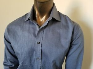 DOLCE-amp-GABBANA-GOLD-Made-in-Italy-great-DRESS-SHIRT-worn-once-Size-16-1-2