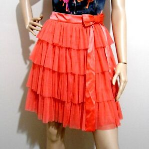 ALANNAH-HILL-size-8-rrp-289-034-Gay-She-039-s-Gay-SKIRT-layered-tulle-amp-exposed-zip