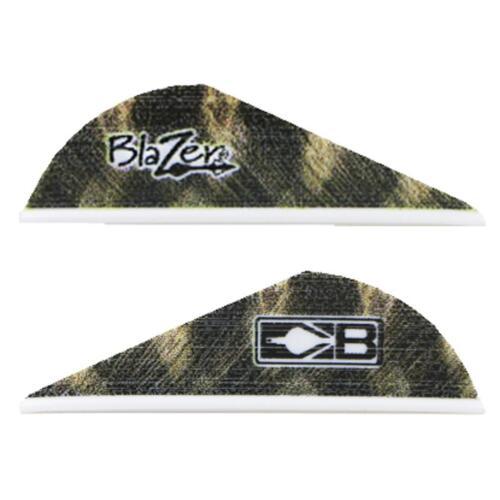 Bohning Blazer Vanes Barred Feather 100 Pack
